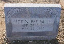 Joe W Parum, Jr