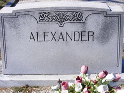 Eliza <i>Cooper</i> Alexander