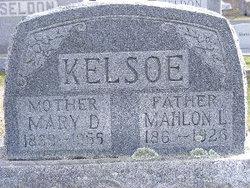 Mary D. <i>Slonaker</i> Kelso