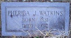 Pheriba Jane <i>Talley</i> Watkins