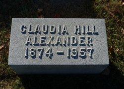 Claudia <i>Hill</i> Alexander