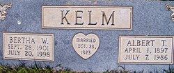 Mrs Bertha W <i>Aigner</i> Kelm