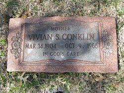 Mrs Vivian Lenora <i>Smith</i> Conklin
