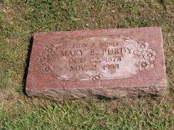 Mary Eliza <i>Pratt</i> Evans Purdy