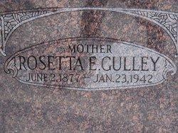 Rosetta Elizabeth Rose <i>York</i> Gulley