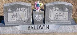 G Don Baldwin