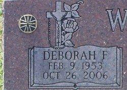 Deborah Frances Debbie <i>Rega</i> Winters