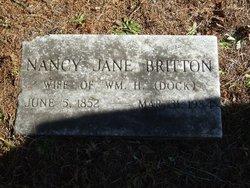 Nancy Jane <i>Greer</i> Britton