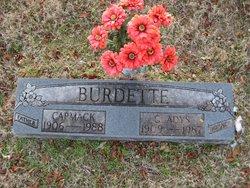 Gladys O. <i>Mealer</i> Burdette