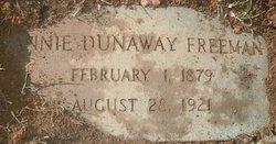Annie Geraldine <i>Dunaway</i> Freeman