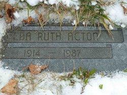 Reba Ruth <i>Hedgecoth</i> Acton