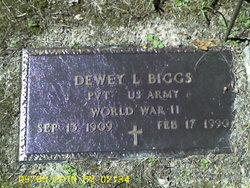 Dewey L Biggs