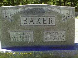 Leslie H Baker