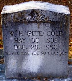 W. H. Pete Cole