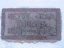 Elizabeth Jean Betty Thomas