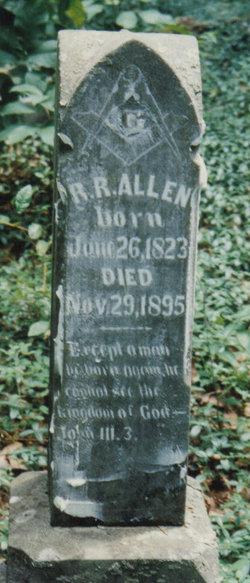 Rev Robert Rittenhouse Allen