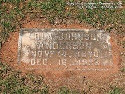 Lola <i>Johnson</i> Anderson