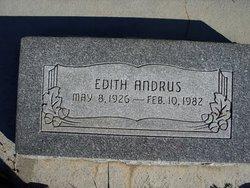 Edith Andrus