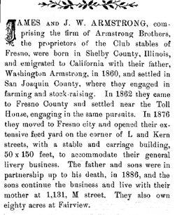 Washington Armstrong