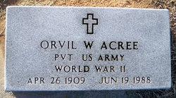 Orvil W Acree