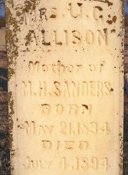 Mrs U. G. Allison