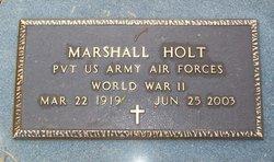 Marshall Buck Holt