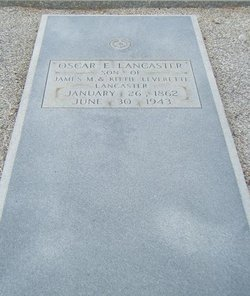 Oscar Eugene Lancaster