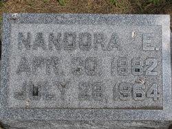 Nandora E <i>Carney</i> Bemis