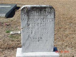 Malcolm Oliver Maxwell, Sr