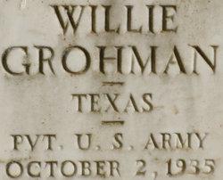 Willie Grohman