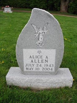 Alice A <i>Daye</i> Allen