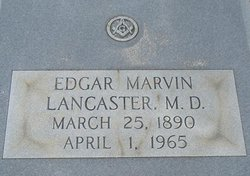 Dr Edgar Marvin Lancaster