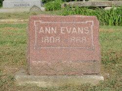 Ann <i>Billings</i> Evans