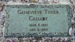 Genevieve Tyner Gooey <i>Straus</i> Cassady