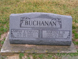 Sarah Jane <i>Corson</i> Buchanan