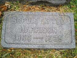 Sophia Elizabeth Sophie <i>Lytle</i> Harrison