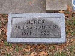 Augusta C Albinus
