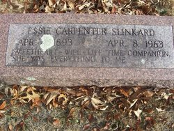 Essie <i>Carpenter</i> Slinkard