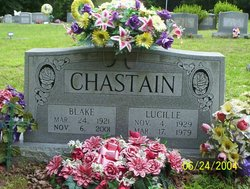 Florence Lucille <i>Gass</i> Chastain