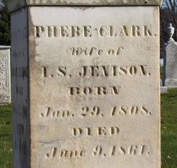 Phebe <i>Clark</i> Jenison