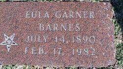 Eula <i>Garner</i> Barnes