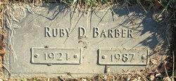 Ruby Della <i>Tolbert</i> Barber