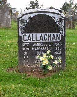 Margaret <i>Healey</i> Callaghan
