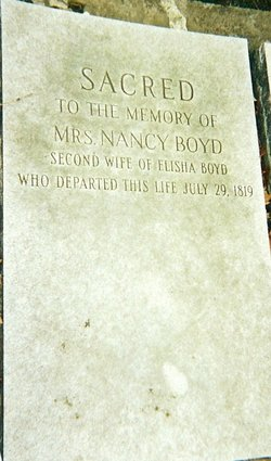 Ann Nancy <i>Holmes</i> Boyd