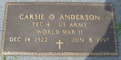 Carsie Odell Anderson