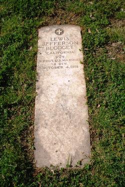 Pvt Lewis Jefferson Blodget