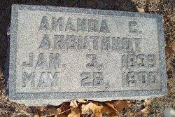 Amanda C Arbuthnot