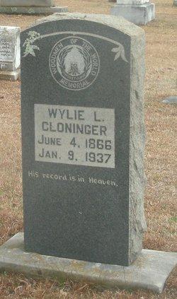 Wylie Lafayette Cloninger