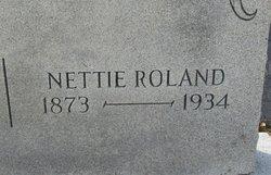 Nettie <i>Roland</i> Callihan