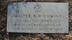 Walter R Richwine